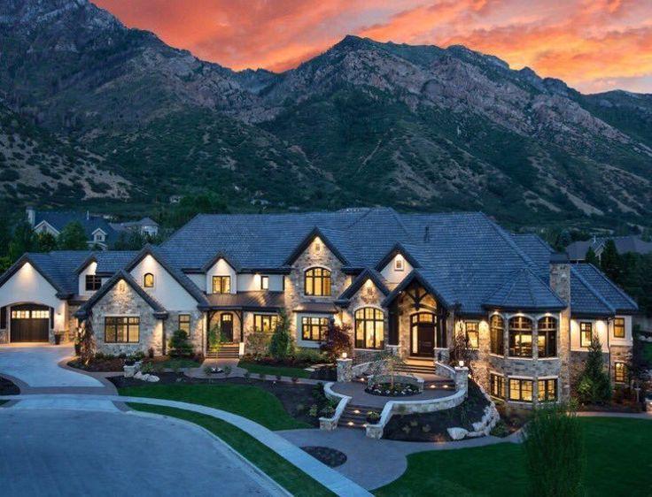 Mansion In Colorado Mountains 👀🙌