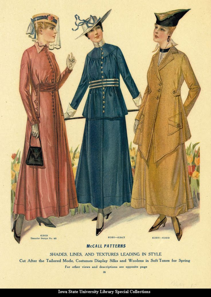 Spring 1915 Fashion Mccall S Magazine Illustration Fashion Pinterest
