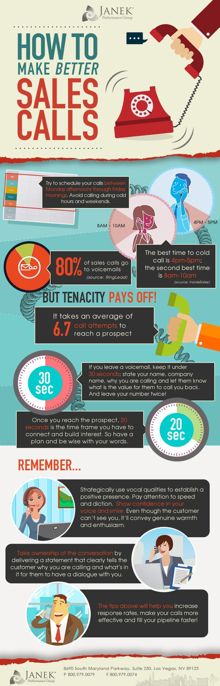 8 Ways to Make Your Sales Calls Better Right Now [Infographic]