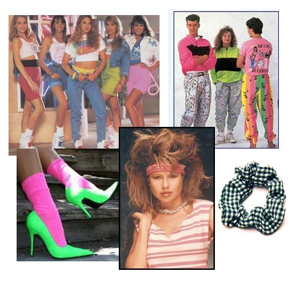 1980s Punk Fashion Women And then there was the 80s,