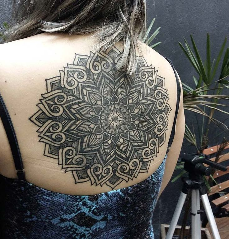 Back Mandala Tattoo: 288 Best Images About On Pinterest