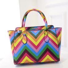 2015 rainbow bag women bag influx of new summer models female summer rivet women messenger bags simple packet