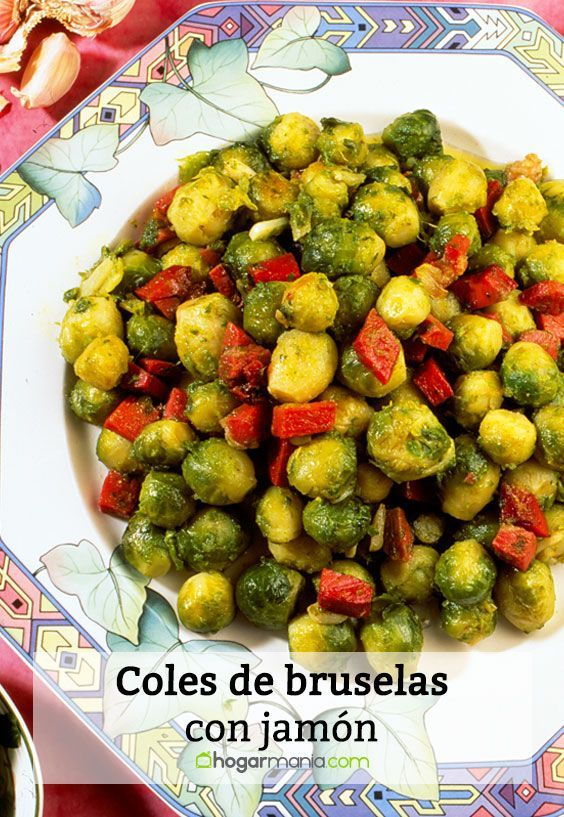 Receta De Karlos Arguiñano De Coles De Bruselas Con Jamón Cosas