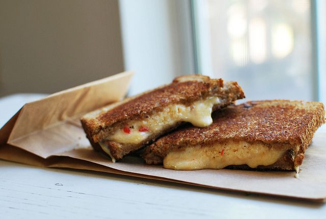 Grilled Pimiento Cheese
