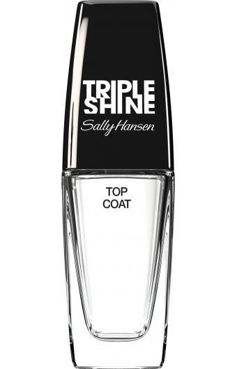 Αποκτήστε τα πιο λαμπερά νύχια με τοSally Hansen Triple Shine Top Coat! Η εξειδικευμένη φόρμουλά του Natural Crushed Pearl χαρίζει στα νύχια σας λαμπερό φινίρισμα, που παραμένει αψεγάδιαστο για πολλές μέρες. Ταυτόχρονα, η υψηλής ποιότητας Acrylic σύστασή του προστατεύει τα νύχια σας από τη φθο