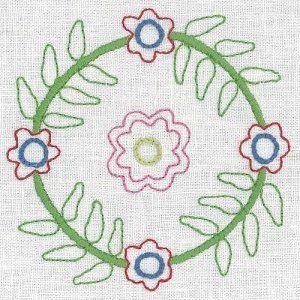 """""""United Stitches - 32"""" designed by Rosalie Dekker for Rosalie Dekkar Designs."""