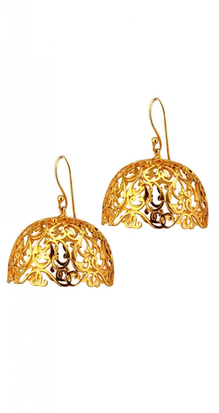 Arabesque Earrings  #EinaAhluwalia