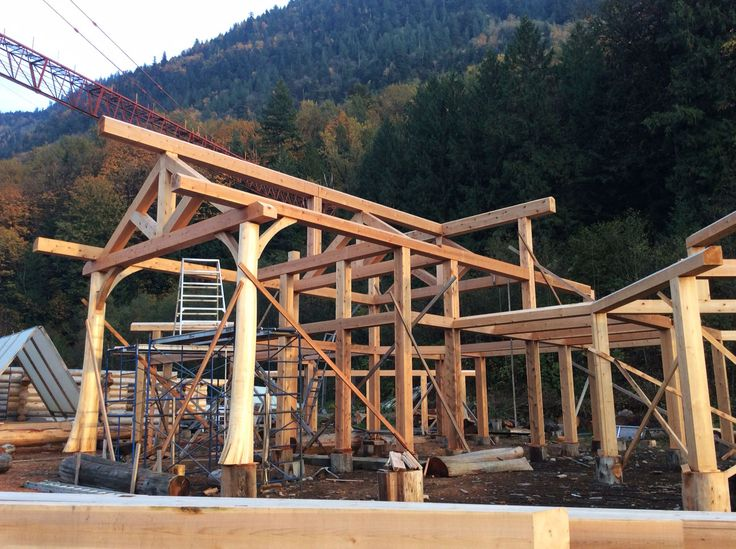 8 best post beam construction images on pinterest for Post beam construction