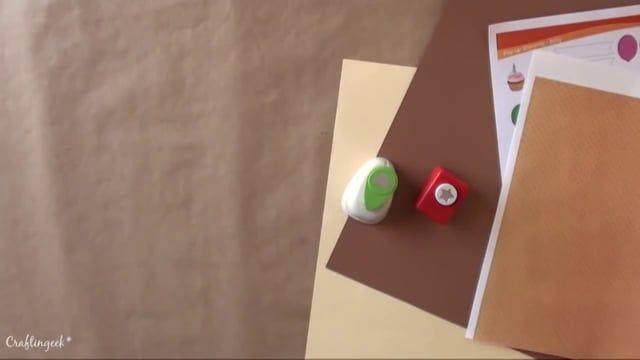 Çok şeker doğum günü kartı yapımı^_^