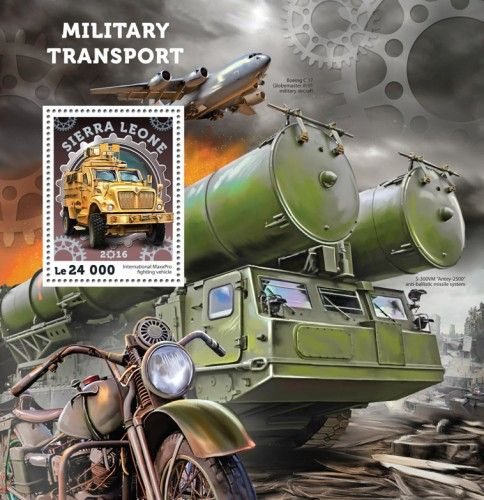 SRL16406b Military transport (International MaxxPro fighting vehicle)