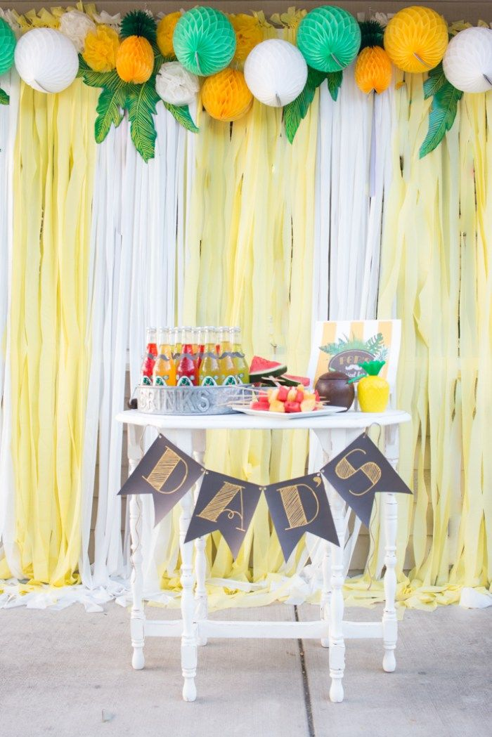 The 25 Best Plastic Tablecloth Backdrop Ideas On