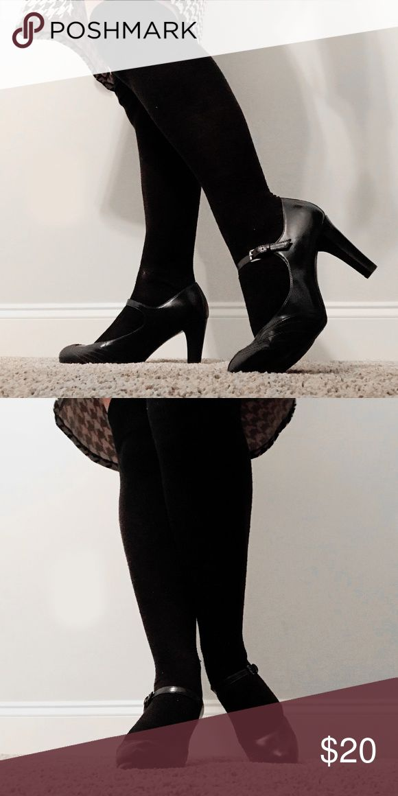 Cole Haan Bradshaw Pump.85 Women Pointed Toe Suede Charcoal Multi Size 8.0 FuZ