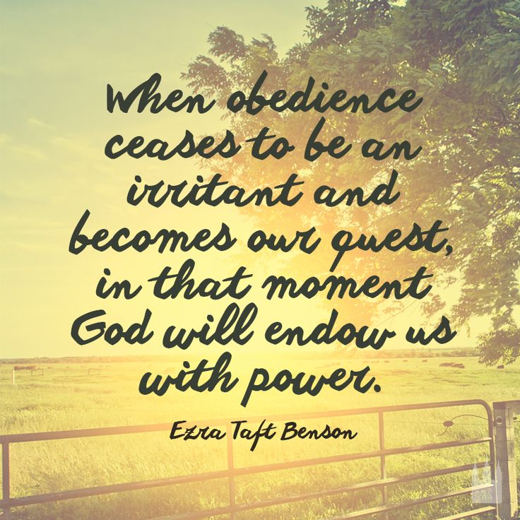 Be obedient. :) #lds #quotes | prophets tell us | Pinterest
