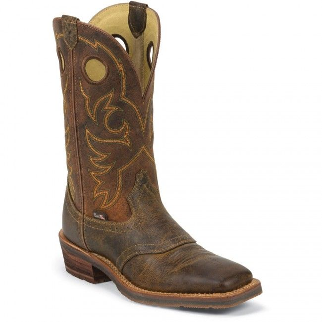 1829 Justin Men's 1879 Cowboy Western Boots - Red www.bootbay.com