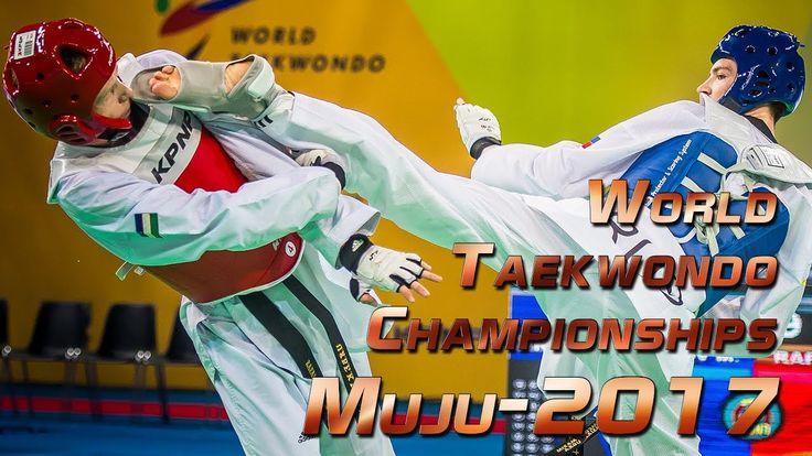 KHRAMTCOV Maksim (RUS) vs RAFALOVICH Nikita (UZB). World Taekwondo Champ...
