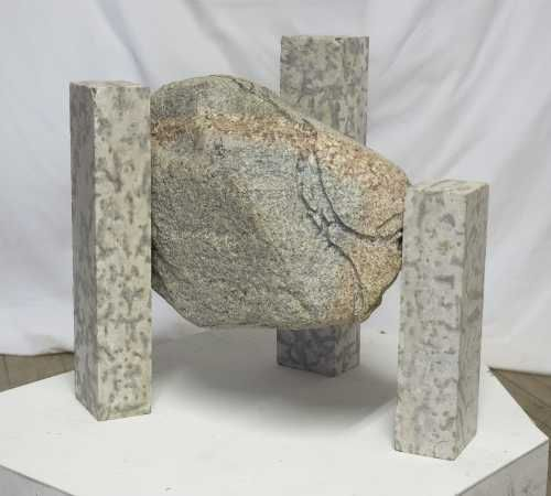 how to make floating rock sculpture