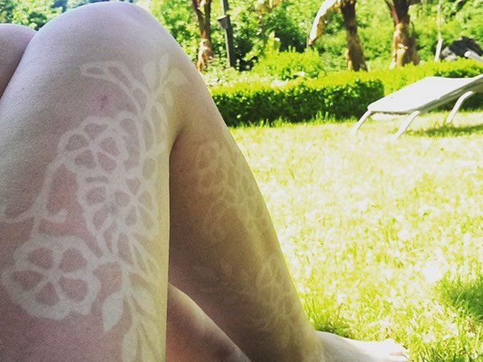 Fotos de los peligrosos Tatuajes de Sol | ActitudFEM