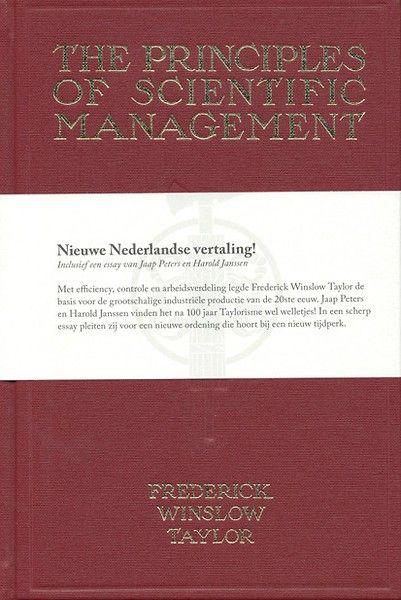 De grondslagen van management mogen in geen collectie ontbreken. Deze eerste Nederlandse vertaling zal, mede door de luxe uitvoering, zeker niet misstaan op uw boekenplank.