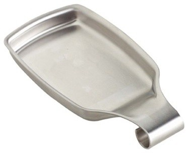 Stainless Steel Spoon Rest from Container Store