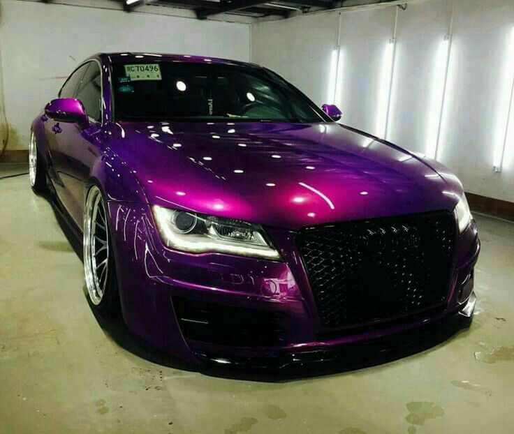 Modified Audi Pictures From Around The World Visit Www Haloledlighting Co Uk For All Your Car Lighting Needs Custom Cars Paint Purple Car Audi Cars