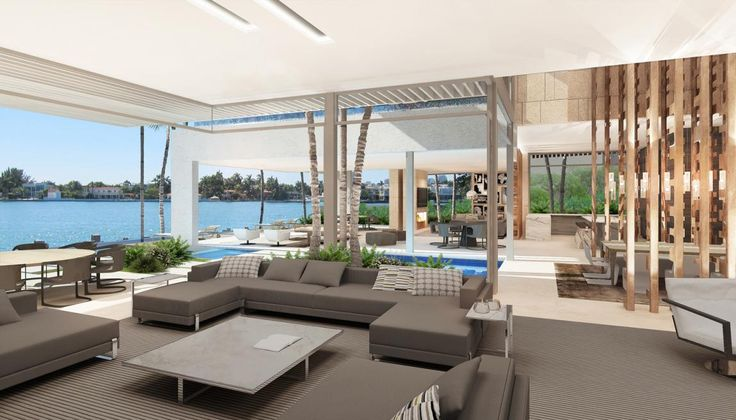 Modern #Home #Design | Venetian Islands - #Miami | SAOTA