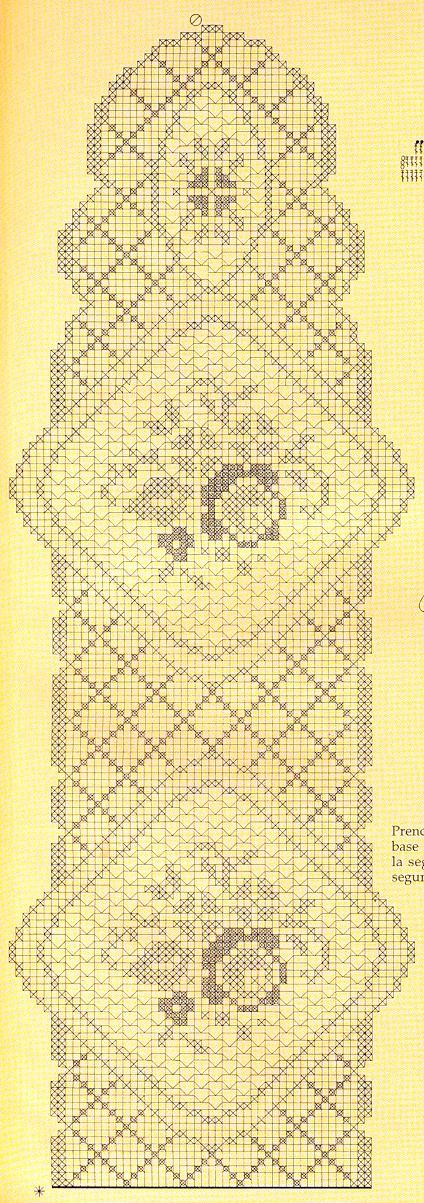 171 best Häkeln Tischläufer / crochet tablerunner images on ...