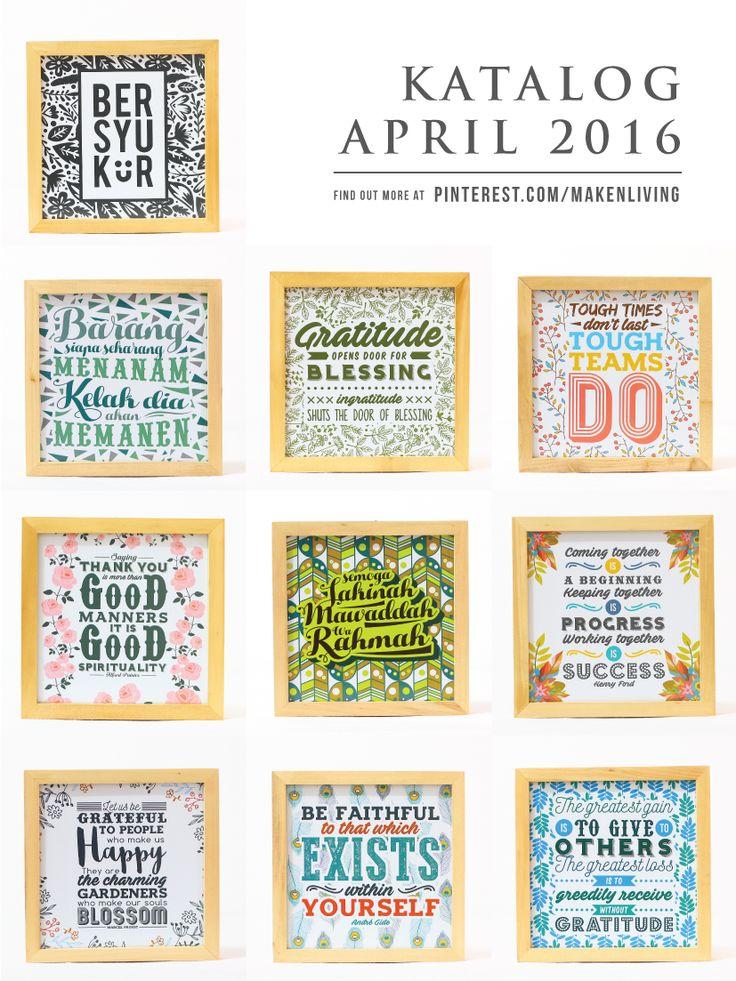 Katalog April 2016 - Gratitude