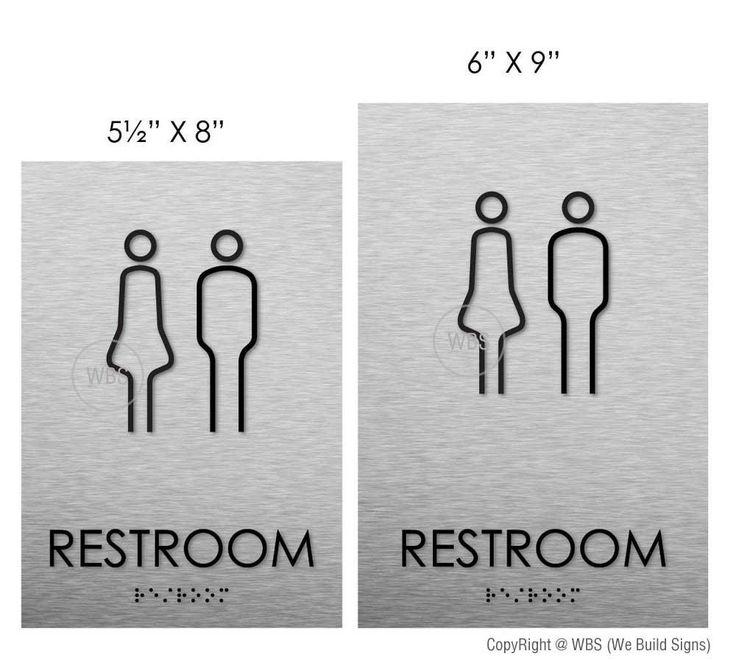 The 25+ Best Unisex Bathroom Sign Ideas On Pinterest