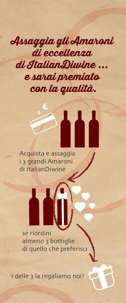 Offerta Amaroni Italiandiwine.it