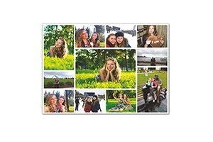 КОЛЛАЖ 40Х60 СМ 1 400сом  Создай коллаж из любимых фотографий! Соедини лучшие фото воспоминания на одном холсте.  Фотоколлаж на холсте является замечательным подарком для каждого человека. Коллаж, выполненный на холсте, может стать прекрасным элементом декора, который удачно впишется в любой интерьер, а также приятно освежит обстановку.  Профессиональные фотоколлажи и коллажи на холсте могут являться великолепным презентом на день свадьбы, юбилей, 8 марта, важные даты или корпоративный…