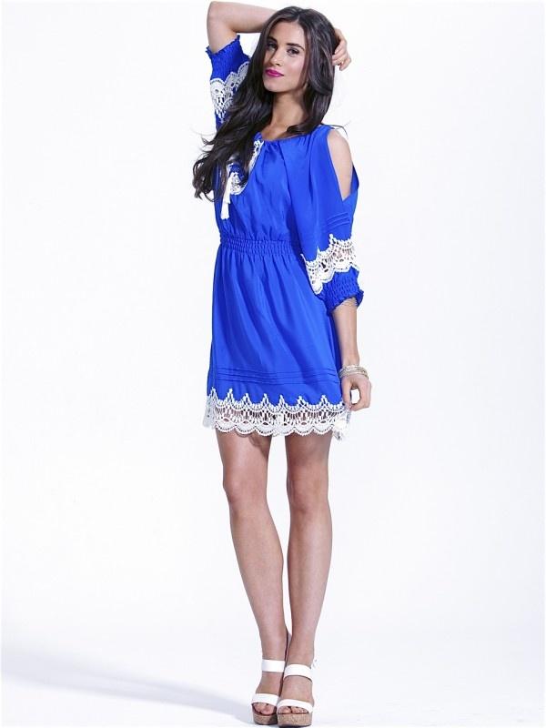 Caspian Silk Dress by Fate  Now: $139.95 #vintage #lace #bohemian