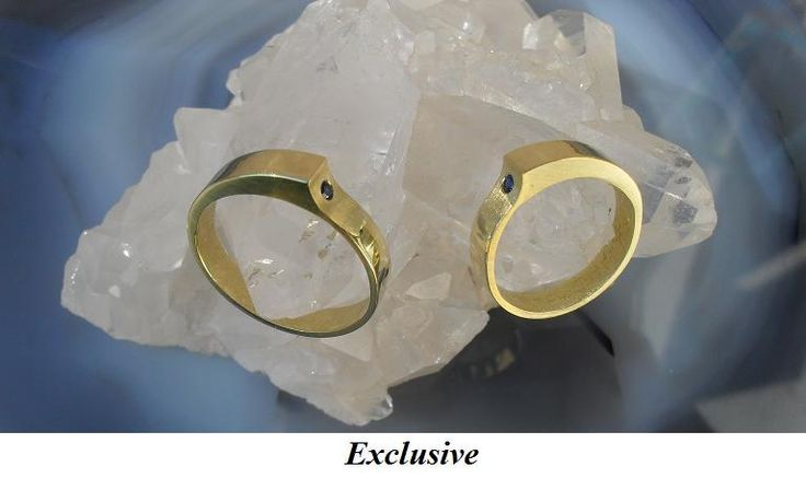 14 carat gold rings with sapphire
