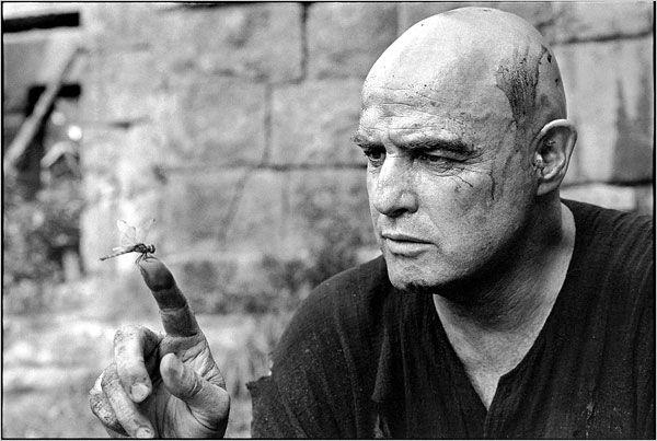 Marlon Brando on the set of Apocalypse Now (dir. Francis Ford Coppola), by Mary Ellen Mark