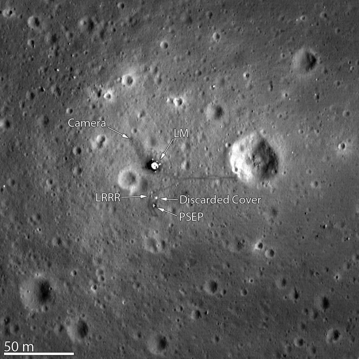 À ceux qui doutent encore, et ils sont nombreux, que les astronautes américains aient débarqué sur la Lune dans les années 1970, des clichés pris depuis l'orbite lunaire devraient les plonger dans...