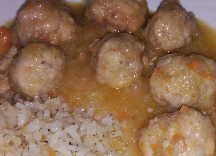 Albóndigas de mi suegra para #Mycook http://www.mycook.es/cocina/receta/albondigas-de-mi-suegra