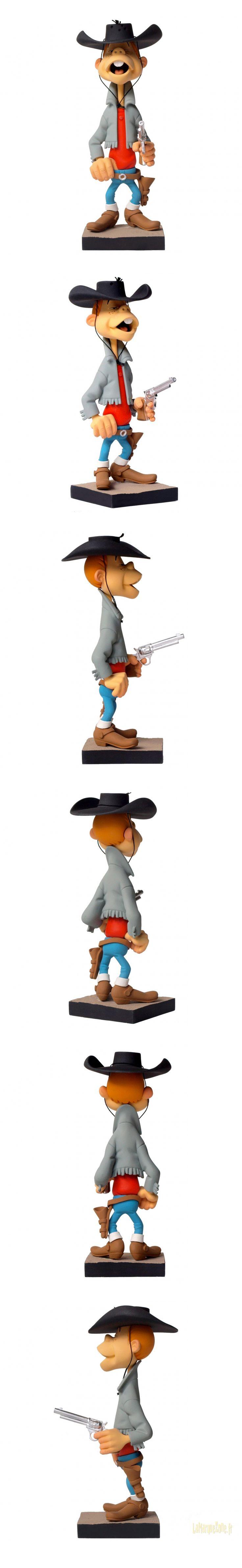 LUCKY LUKE : BILLY THE KID - statuette résine 19 cm by Fariboles