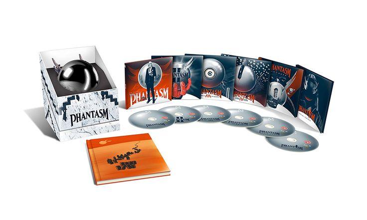 Phantasm 1-5 - Limited Edition Blu-ray Collection: Amazon.co.uk: Angus Scrimm, Reggie Bannister, Don Coscarelli: DVD & Blu-ray