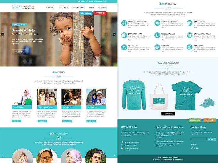 SAY Indonesia Website by Oka Kuswandi