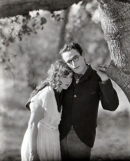 Jobyna Ralston and Harold Lloyd in Girl Shy (1924)