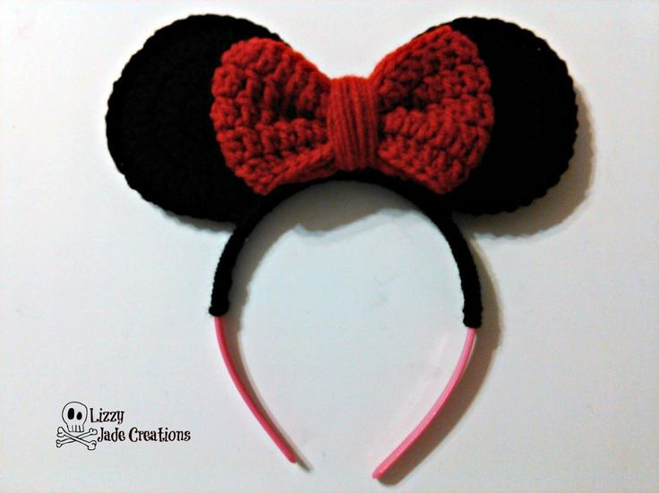 Looking for your next project? You're going to love Minnie Mouse Inspired Headband by designer Jenna Johnston.