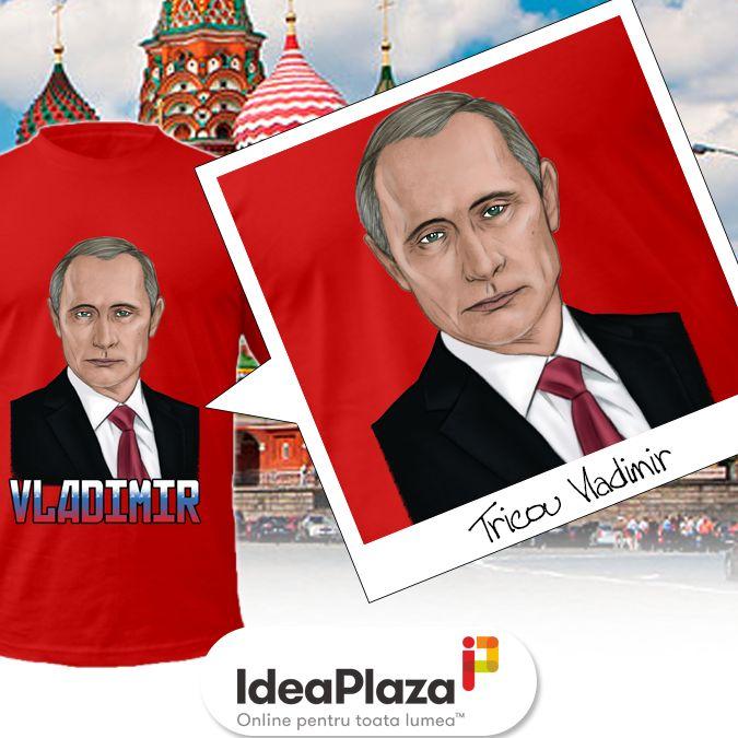 Pentru ca.... Vladimir   #vladimier #putin #tricou #tricouhaios