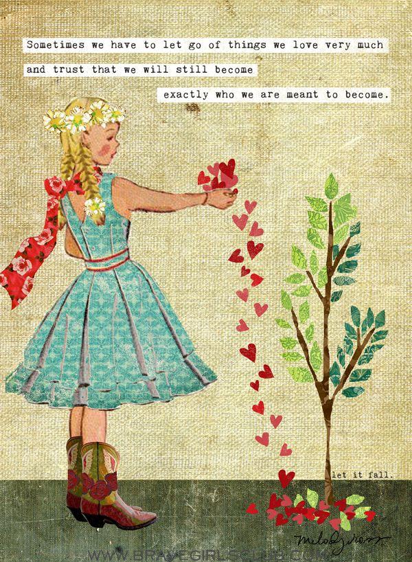 Brave Girls Club - Let it Go, Let it Be online class