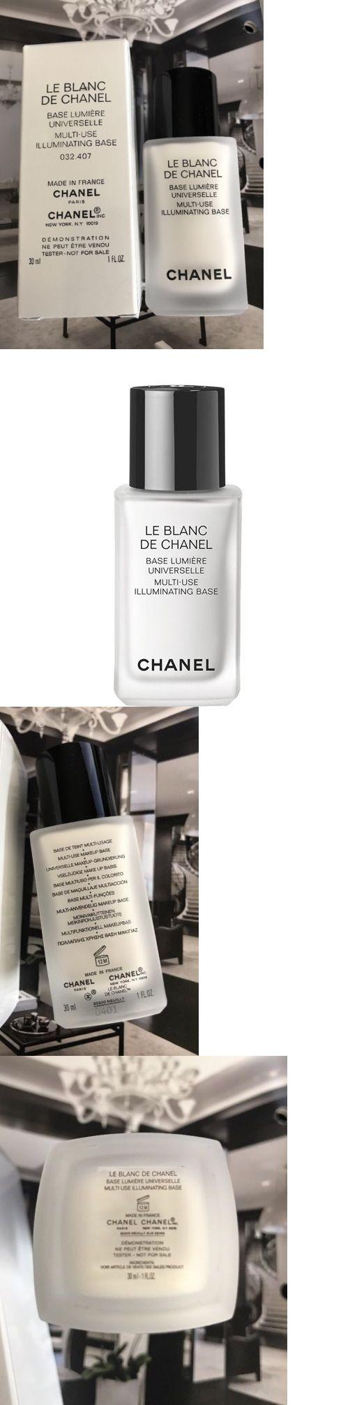 Foundation Primer: Chanel Le Blanc De Chanel Multi-Use Illuminating Base Primer New Full Size -> BUY IT NOW ONLY: $38 on eBay!