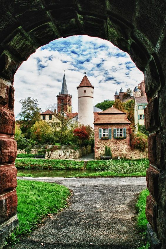 Wertheim, a town in southwestern Germany, best known for its landmark castle and medieval town centre.