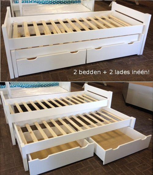 Kinderbed Met Extra Bed.Kinderbedden Outlet Solide Kinderbed Vanaf 149 95 Tip