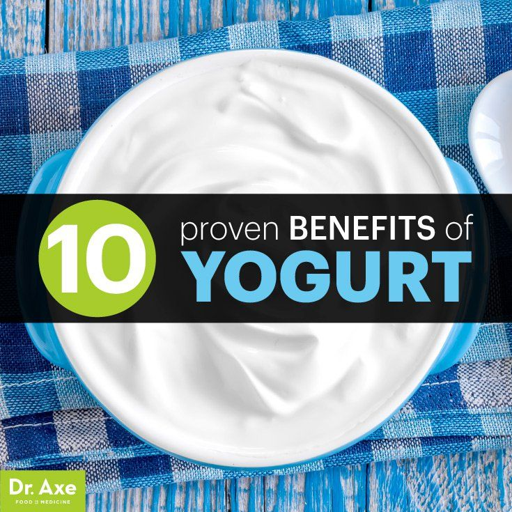 10 Proven Probiotic Yogurt Benefits & Nutrition Facts - Dr. Axe