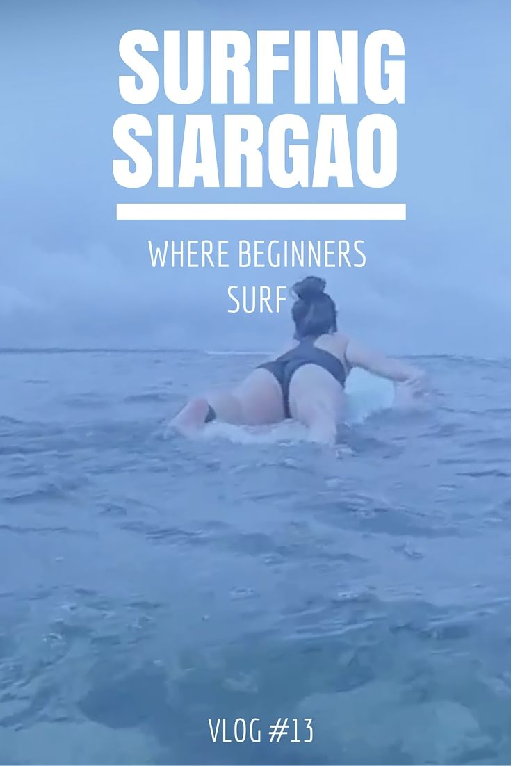 Siargao is an island paradise! It's better known as the best place to surf in the Philippines! We're not big surfers be we decided to give it a try! The best spot for beginners is called Jacking Horse. It's just a few hundred yards down the beach from the better known Cloud 9. If you want to check out Jacking Horse and see us fail miserably at surfing, check out today's VLOG! #philippines #surfing #beginner #siargao #island #travel