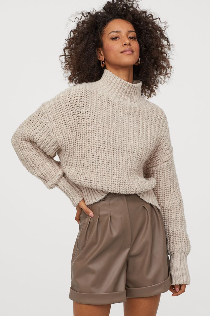 H&M Chunky knit Sweater in 2020   Chunky knits sweater