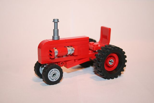 Awesome Lego Tractor