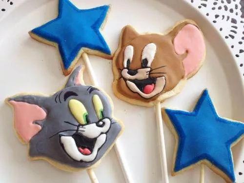 cortante galletita tom y jerry